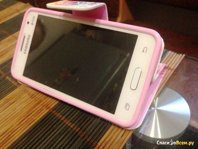 Чехол для смартфона Samsung Galaxy Core 2 LoveKiss bell фото