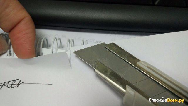Нож канцелярский Комус Арт. 159340 фото