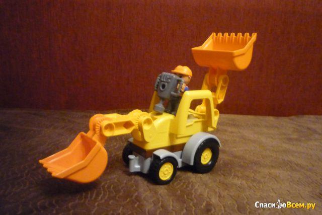 """Конструктор Lego Duplo """"Экскаватор-погрузчик"""" 10811 фото"""