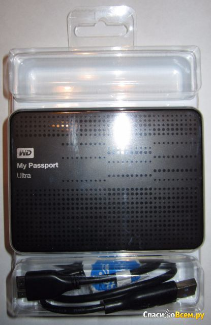 Внешний жесткий диск WD My Passport Ultra фото