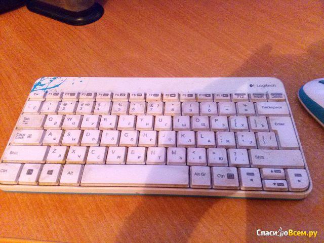 Беспроводной комплект клавиатура и мышь Logitech Wireless Combo MK240 фото