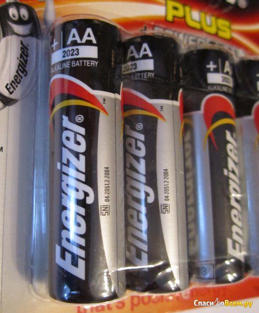 Алкалиновые батарейки Energizer Plus Power Seal фото