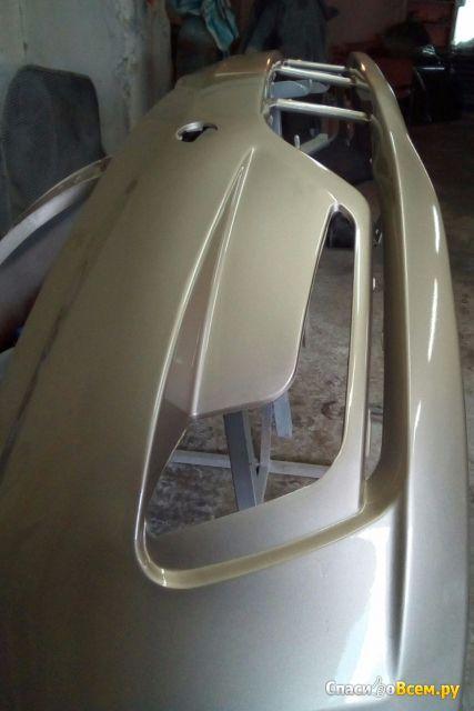 Бампер передний Kia Rio 11-14 86511-4Y000 / OSM фото