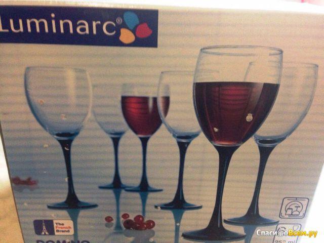 Набор бокалов для вина Luminarc Domino фото