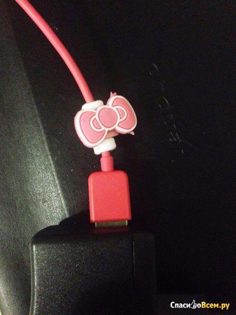 Защитные насадки для кабеля Cartoon Cable Protector Data Line Cord Protector фото