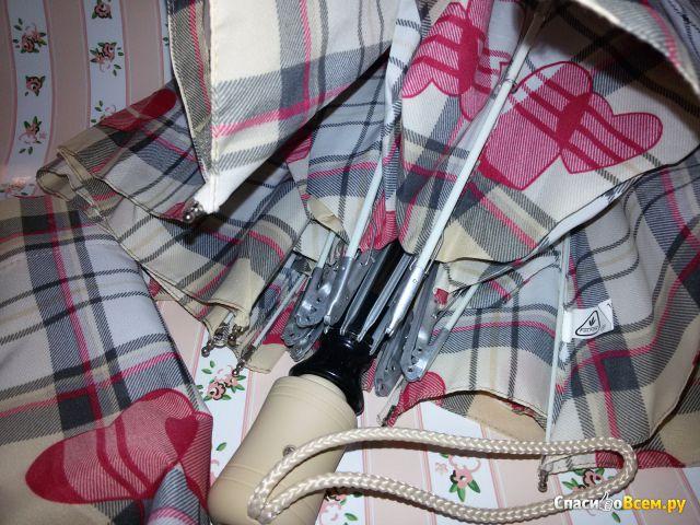 Зонт Fulton женский автомат J346-2315 HeartCheck фото