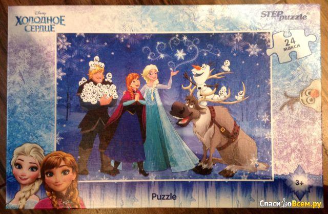 "Пазл ""Холодное сердце"" Step Puzzle, 24 макси фото"