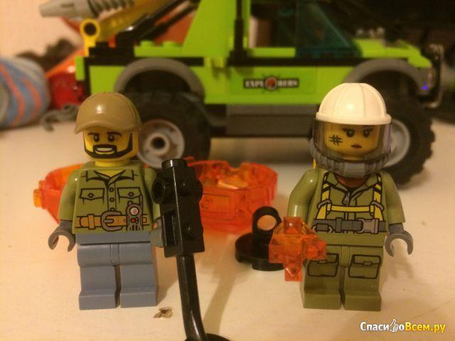 """Конструктор Lego City """"Грузовик исследователей вулканов"""" 60121 фото"""