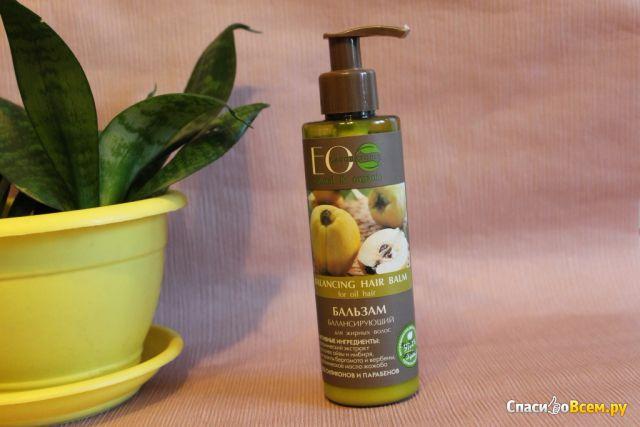 Бальзам для волос Ecolab Балансирующий для жирных волос фото