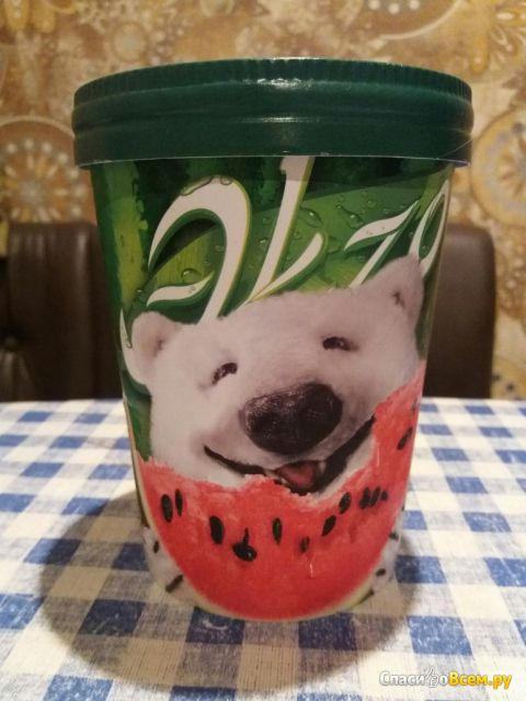 "Мороженое ""Экзо"" Инмарко Арбуз-дыня фото"