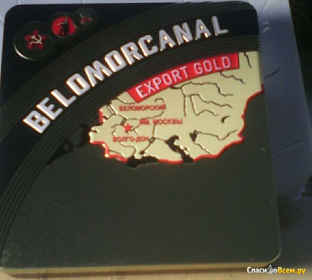 "Папиросы Belomorcanal export gold ""Донской табак"" фото"