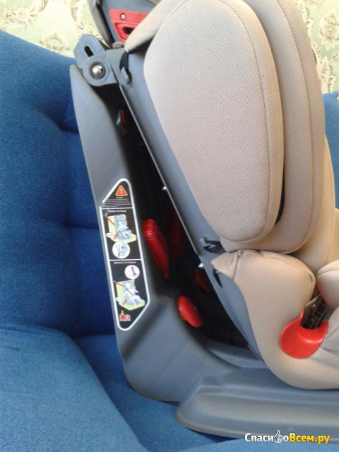 Автокресло Happy Baby «Mustang Isofix» 9-36 кг фото