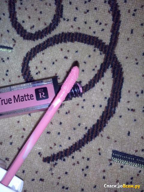 Жидкая матовая помада для губ Relouis True Matte Complimenti оттенок 05 фото