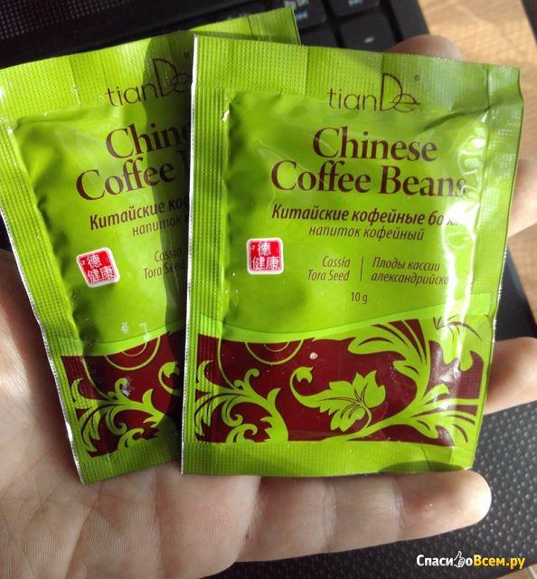 Китайские кофейные бобы Tiande фото