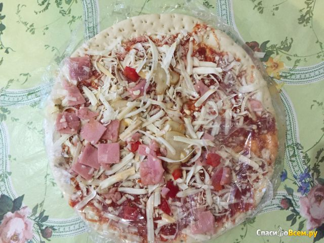 """Полуфабрикат замороженный Пицца """"365 дней"""" с ветчиной и грибами"""