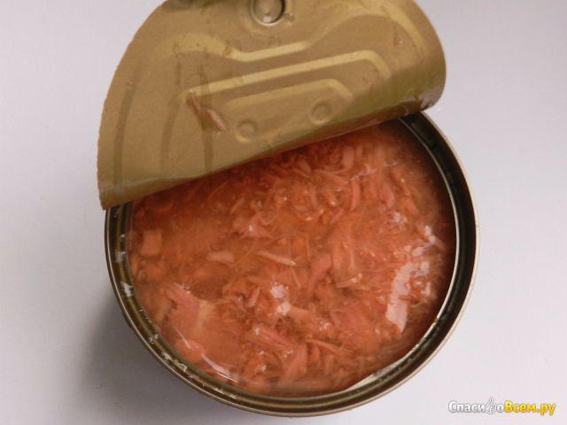 Рыбные консервы Fortuna Тунец рубленый в собственном соку фото