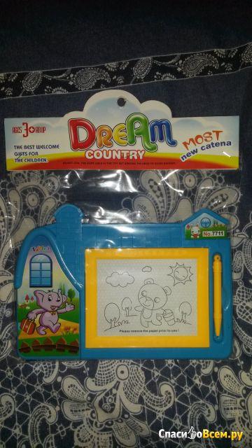 Магнитная доска для рисования Dream Works Dream Country арт. 7711 фото