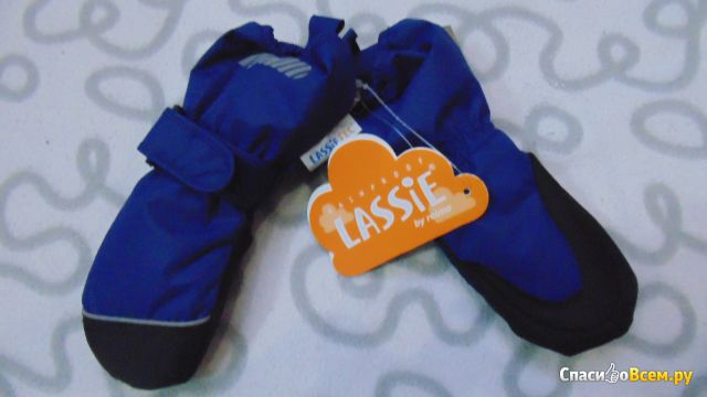 Рукавицы мембранные для мальчика Lassie by Reima арт. 727310 фото