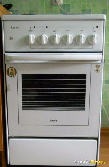 Электрическая плита Lysva ЭП 401 CT белая без крышки