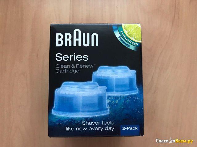 Картридж для систем самоочистки Braun Clean & Renew Cartridge Lemonfresh Formula