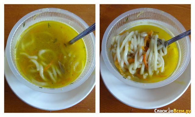 """Суп """"Лапша с курицей"""" Фабрика супа №1 фото"""