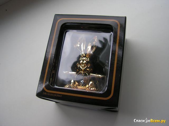 """Сувенир Crystal Temptations """"Кролик"""" с хрусталиком Сваровски арт. ST-7001 фото"""