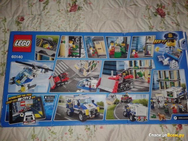 "Конструктор Lego City ""Полицейские и грабители"" 60140 фото"