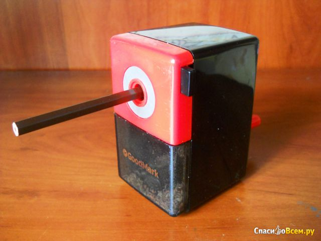 Точилка механическая GoodMark арт. 4071316 фото