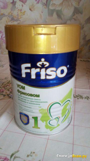 """Сухая молочная смесь Friso VOM 1 """"Фрисовом"""" для детей со срыгиваниями, коликами и запорами"""