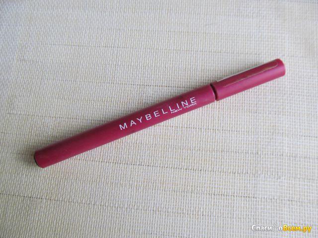 Карандаш-подводка для глаз Maybelline Liner Definer Liquid Eyeliner Noir-Black фото