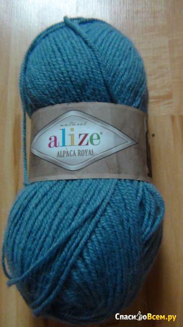 Пряжа Alize Alpaca Royal фото