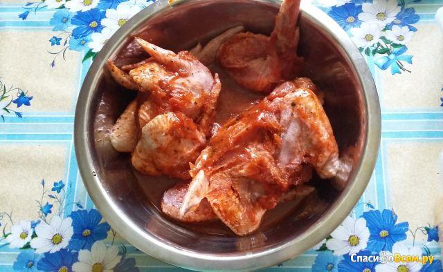 Крыло цыпленка-бройлера в маринаде для гриля ТМ «Добрынинъ» фото