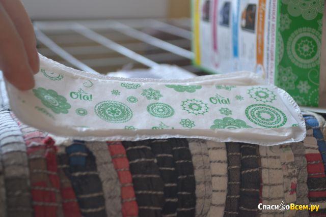 """Ежедневные прокладки Ola! """"Зеленый чай"""" фото"""