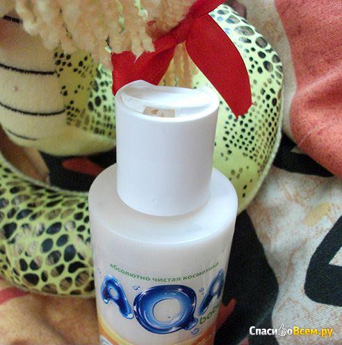 Бальзам детский для волос AQA baby Kids 3 + с маслом Ши, витаминами и эксрактом облепихи фото