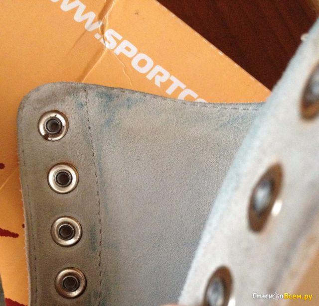 Полупрофессиональные фигурные коньки Ladies Leather фото