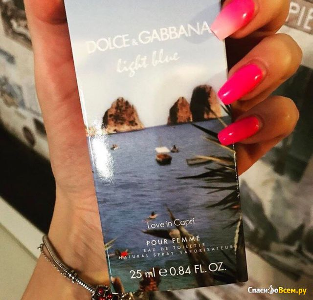 Парфюм Dolce & Gabbana Light Blue Love in Capri фото