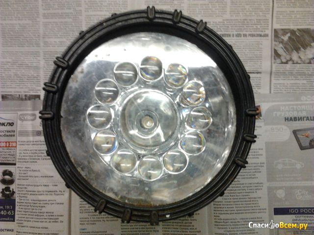 Аккумуляторный фонарь UF3753LED Ultraflash фото