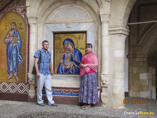 Пояс чадородия Пресвятой Богородицы (Кипр) фото