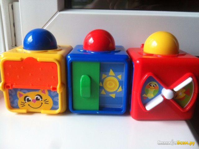 Кубики с сюрпризами Fisher-Price