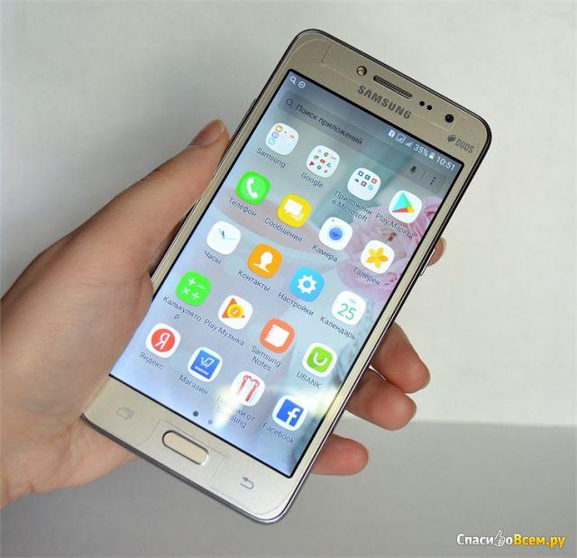 Смартфон Samsung Galaxy Duos J2 Prime фото