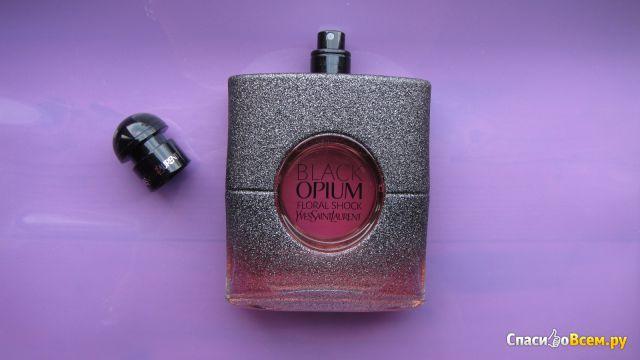 Парфюмерная вода Black Opium Floral Shock Yves Saint Laurent фото