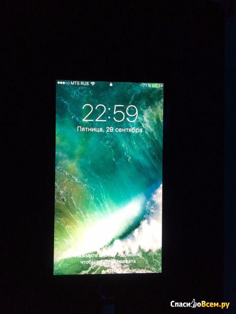 Защитное 4D стекло PLV для Apple iPhone 6 фото