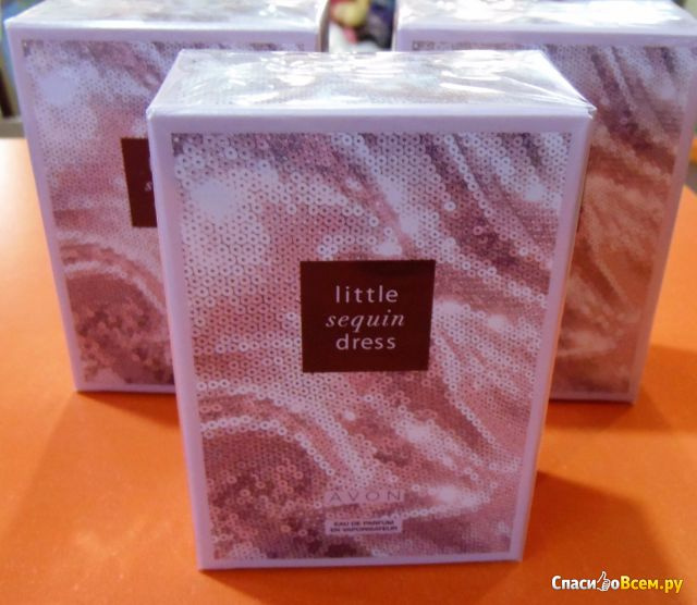 Парфюмерная вода Avon Little Sequin Dress фото