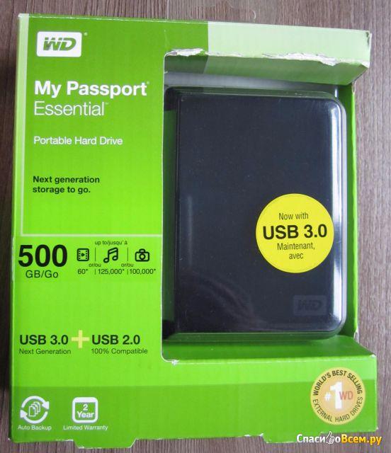 Внешний жесткий диск WD My Passport фото