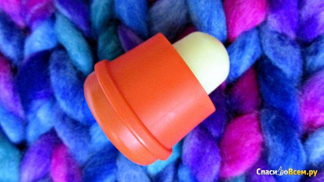 Бальзам для губ с ароматом абрикоса и персика Pogo фото