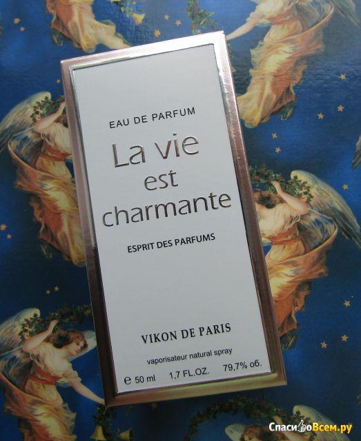 "Парфюмерная вода Новая Заря Dikon de Paris ""La Vie est Charmante"" фото"