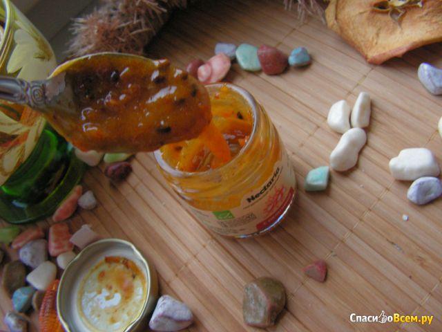 """Натуральный взбитый мед """"Nectaria"""" с облепихой фото"""
