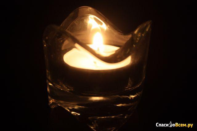 Подсвечник для греющей свечи IKEA Вэснас фото