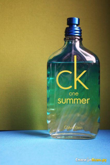 Туалетная вода Calvin Klein CK One Summer фото