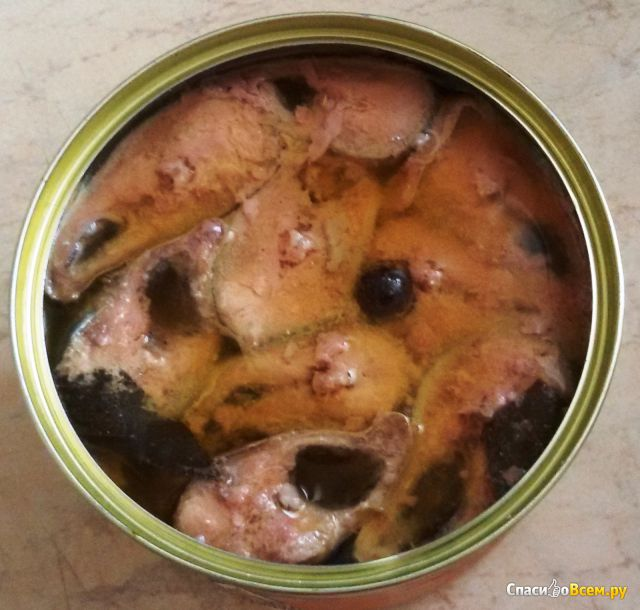 Сайра тихоокеанская натуральная с добавлением масла Дальпромрыба фото